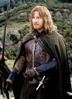 Faramir (by David Wenham)- Easily my favorite character in the books, and I feel that David Wenham did the character justice!