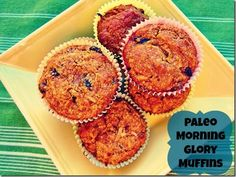 Muffins Paleo Morning Glory | 23 Grain-Free Breakfasts To Eat On The Go