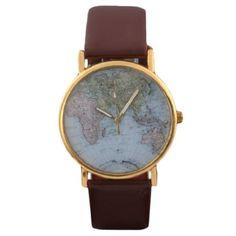 Retro Weltkarte Uhr Lederausstattung Leichtmetall Damen Analoge Quarz Armbanduhr Braun Sanwood http://www.amazon.de/dp/B00HH31LCE/ref=cm_sw_r_pi_dp_8srivb1748KN2