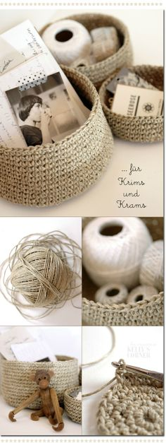 they say these are DIY Storage Basket Ideas, and I want to see if I can do it too