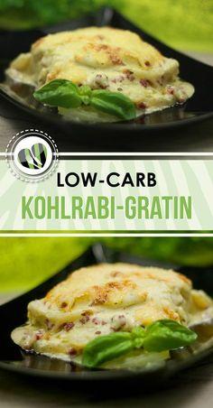 Das Kohlrabi-Gratin ist eine super Alternative zum Kartoffel-Auflauf. Zudem ist das Rezept low-carb und glutenfrei.