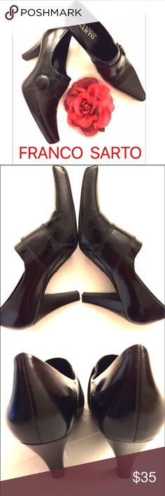 "Franco Sarto Booties Size 7, 3"" Heel, vegan material, made in Brazil. NWT. Franco Sarto Shoes Ankle Boots & Booties"