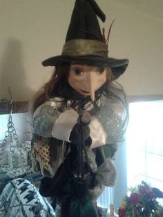 Lucinda my kitchen witch of pendle.  Kitchen witches &.witch dolls @ moonstruck giftshop.com