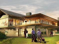 Golf Clubhouse Projects / Proposals: Waverley (Vic), Grange (SA), Huntingdale (Vic), Port Hedland (WA)