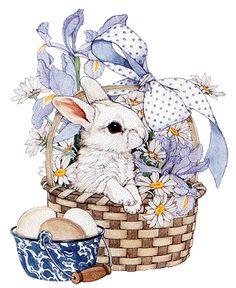 the softer side of life Easter Art, Easter Bunny, Easter Eggs, Easter Pictures, Easter Printables, Bunny Art, Vintage Easter, Beatrix Potter, Cute Illustration