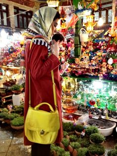 Shopping for Norouz in Iran