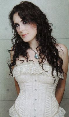 Sharon Den Adel <3 toured with nightwish but has her own solo career called  within temptation i love her music