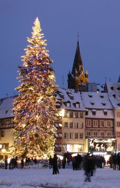 The town of Strasbourg, France. Its 2000 year history has taken it from being a prosperous merchant city to its current position as capital of the peoples of Europe, from a centre for humanist thinking to a thriving hub of creators and entrepreneurs.
