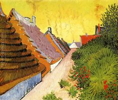 Street In Saintes Maries Vincent Van Gogh Reproduction | 1st Art Gallery