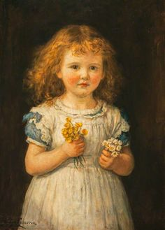 hugh cameron(1835–1918), buttercups and daisies, 1881. oil on canvas, 68 x 47.6 cm. national galleries of scotland, uk http://www.bbc.co.uk/arts/yourpaintings/paintings/buttercups-and-daisies-209864