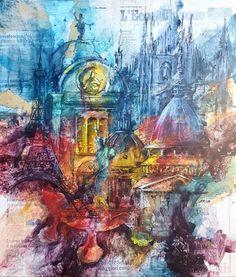 Opera, Painting, Futurism, Art, Opera House, Painting Art, Paintings, Painted Canvas, Drawings