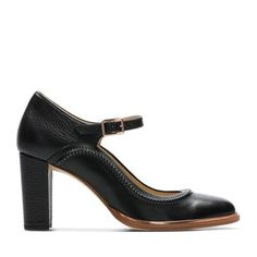 1ab0905457f Ellis Mae - Womens Shoes - Black Leather by Clarks