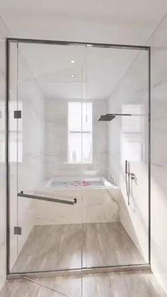 Minimalist Bathroom Design, Bathroom Design Luxury, Modern Bathroom Design, Minimalistic Kitchen, Bedroom Closet Design, Bedroom Furniture Design, Bedroom Designs, Small House Interior Design, Home Room Design
