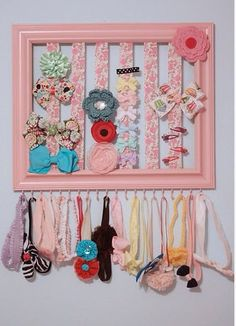 Bow and Headband holder