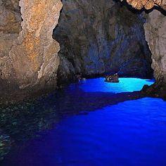 Blue Cave, Vis, Croatia