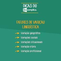Para guardar: fatores de variação linguística. Clique na imagem para assistir à aula em vídeo sobre o assunto.