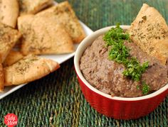 Caramelized Onion & Black Bean Dip
