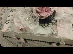 Shabby Altered Box and {Fun Contest} ~ Lavish Laces~