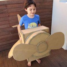 créer des jouets en carton