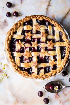 Mulled Cherry Pie.