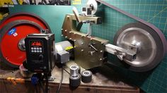 PHEER GRINDERS - PH 454 belt grinder