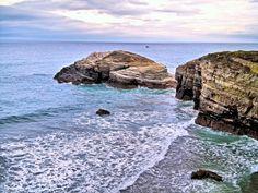 Playa de las Catedrales. Ribadeo. Lugo.