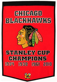 One of my favorite teams! The Chicago Blackhawks!