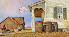 David Armstrong - Mountain Air - watercolor