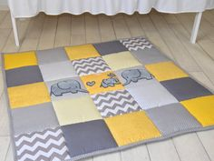Easy Play Mat Pattern Tummy Time Baby Quilt Pattern