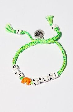 Ooh La La! Friendship Bracelet