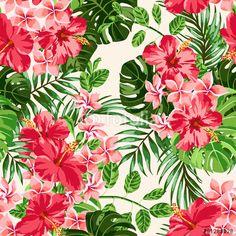Wektor: Seamless exotic pattern.