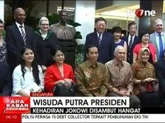 Presiden Jokowi Menghadiri Wisuda Kaesang Pangarep di Singapura