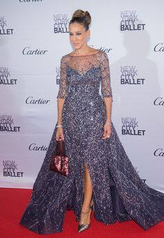 Sarah Jessica Parker's Dress - 2015 New York City Ballet Fall Gala