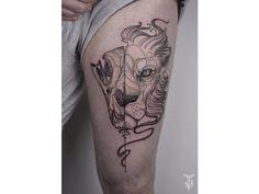 50 Splendides tatouages natures réalisés par Boglárka Tóth