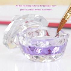 2016 New Nail Art Acrylic Crystal Glass Dappen Dish Bowl Cup Clear Nail Tools Hot Selling #>=#>=#>=#>=#> Click on the pin to check out discount price, color, size, shipping, etc. Save and like it!
