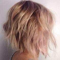 24 Champagne Blonde Hairstyles | Trendynesia