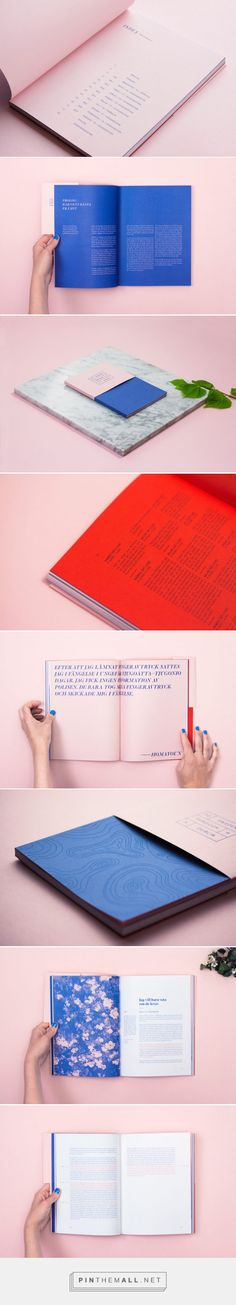 To Sweden Through Dublin Book Branding By Studio Ahremark | Trendland