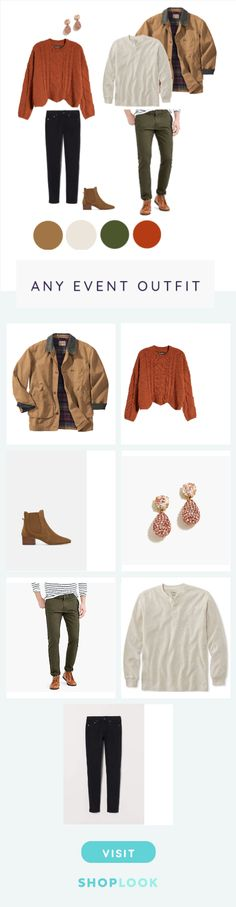 Coordinate the fall staples you already have in your closet. Fall Staples, Outfit Maker, Blank Nyc, Cable Knit, Fall Outfits, J Crew, Zara, Skinny, How To Wear