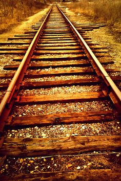 The sound of a train on the tracks. Trains, Hell On Wheels, Train Tour, Train Art, Ferrat, Train Tracks, Abandoned Places, Pathways, Amazing Photography