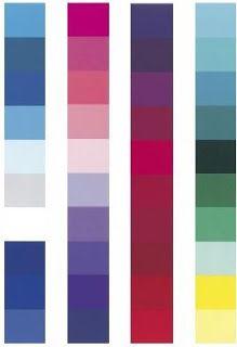Kleuren die een wintertype goed staan.