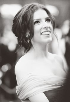 #AnnaKendrick. She's feisty, funny and talented. Now that's sexy! Follow her on Twitter to enjoy her wit. Love, Sarah www.goachi.com
