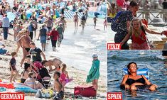 Spain hits but experts say Europe will NOT have hottest day EVER today Hottest Day Ever, Aquarium Shop, Fish Tank Accessories, Underwater Fish, Beautiful Fish, Hot Days, Mail Online, Daily Mail, Spain