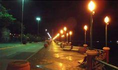 Brasil. PE, Recife. Av. Engenheiro José Estelita. Ago2014-noite. Foto: Max Wesley Florentino.