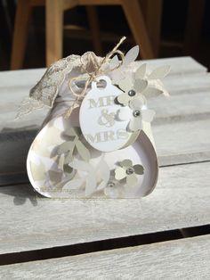 Keepsake Box, Zierschachtel für Andenken, wedding Hochzeit SU Stampin' Up!, Goodie