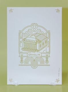 Il y a quelques mois, nous vous présentions le travail de Rodéo Basilic,agence de design d'espace et de création graphique, à travers son projetd'aménage
