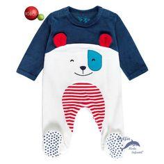 Conjunto de Ropa Unisex beb/é boboli Pack Velour For Baby