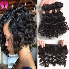 Amazing 8A Brazilian Virgin Hair 3 Bundles Deals Brazilian Virgin Curly Hair Ali Grace Hair Funmi Hair Meches Bresilienne Lots -  http://mixre.com/amazing-8a-brazilian-virgin-hair-3-bundles-deals-brazilian-virgin-curly-hair-ali-grace-hair-funmi-hair-meches-bresilienne-lots/  #HairWeaving