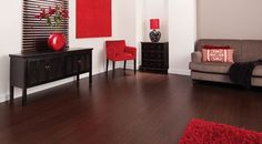 Carbonized Bamboo Flooring