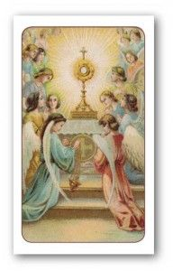 Act of Reparation Holy Card