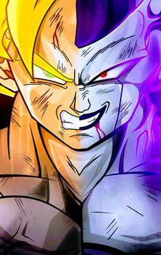Frieza, Dragon Ball Z, Super Saiyan Vs. Frieza, Dragon Ball Z Dragon Ball is a Japanese manga series written and illustrated by Akira Toriyama. Originally serialized in. Saga Dragon Ball, Dragon Ball Image, Wallpapers Whatsapp, Asian Dragon Tattoo, Goku Wallpaper, Ball Drawing, Fan Art, Pictures To Draw, Goku Super